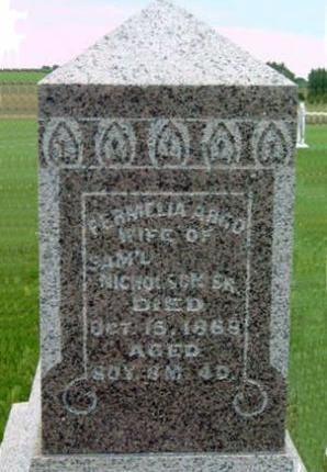 ARGO NICHOLSON, PERMELIA - Madison County, Iowa | PERMELIA ARGO NICHOLSON
