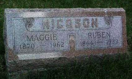 ALLEN NICOSON, MARY MARGARET (MAGGIE) - Madison County, Iowa | MARY MARGARET (MAGGIE) ALLEN NICOSON