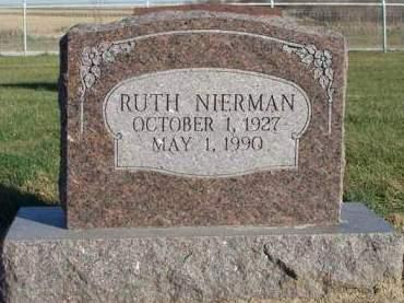 NIERMAN, RUTH - Madison County, Iowa | RUTH NIERMAN