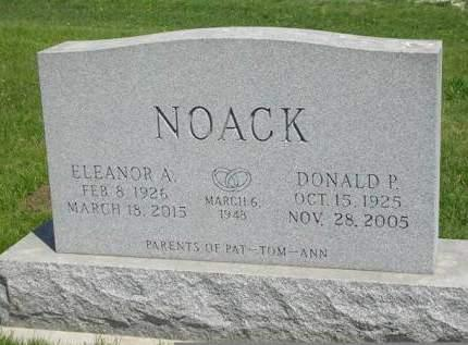 NOACK, ELEANOR A. - Madison County, Iowa | ELEANOR A. NOACK