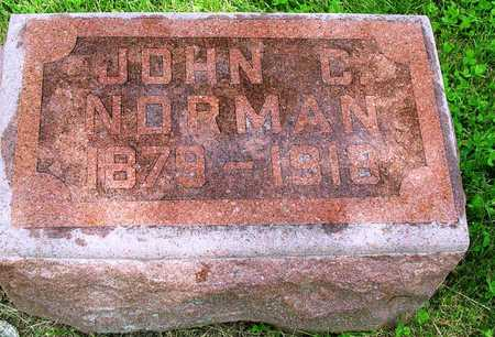 NORMAN, JOHN CHARLES - Madison County, Iowa | JOHN CHARLES NORMAN
