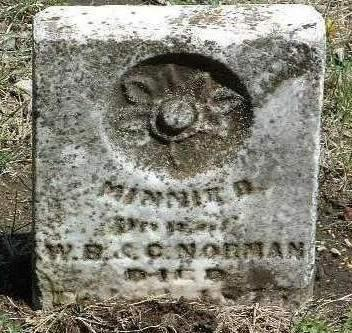 NORMAN, MINNIE D. - Madison County, Iowa | MINNIE D. NORMAN