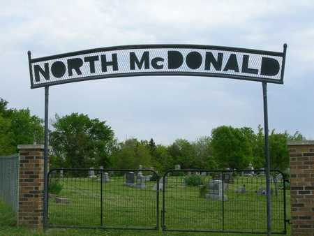 NORTH MCDONALD, CEMETERY - Madison County, Iowa | CEMETERY NORTH MCDONALD