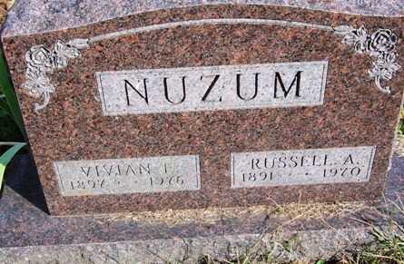 NUZUM, VIVIAN ESTHER - Madison County, Iowa | VIVIAN ESTHER NUZUM