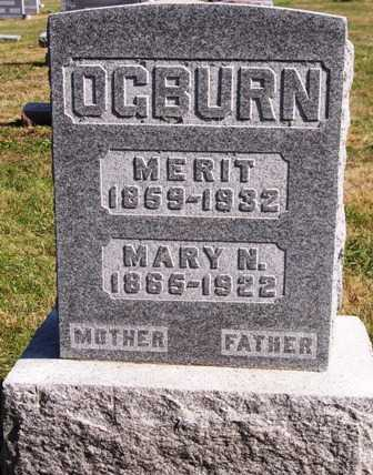 OGBURN, MARY N. - Madison County, Iowa | MARY N. OGBURN