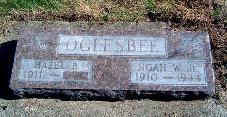 HUSTED OGLESBEE, HAZEL BERTINE - Madison County, Iowa | HAZEL BERTINE HUSTED OGLESBEE