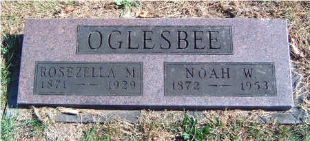 STEVENS OGLESBEE, ROSEZELLA MAY - Madison County, Iowa | ROSEZELLA MAY STEVENS OGLESBEE