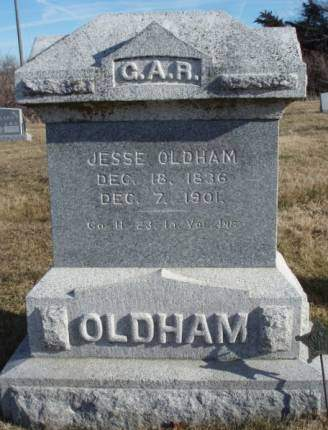 OLDHAM, JESSE - Madison County, Iowa | JESSE OLDHAM