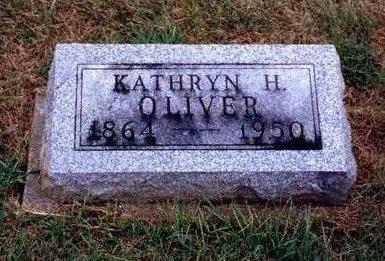 OLIVER, KATHRYN H. - Madison County, Iowa | KATHRYN H. OLIVER