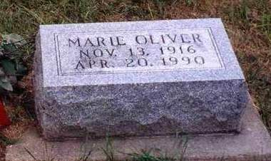 THORNBURG OLIVER, OPAL MARIE - Madison County, Iowa | OPAL MARIE THORNBURG OLIVER