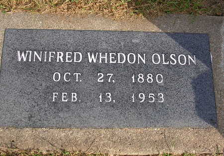 OLSON, WINIFRED ETHEL - Madison County, Iowa | WINIFRED ETHEL OLSON