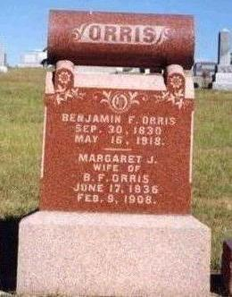 ORRIS, BENJAMIN FRANKLIN - Madison County, Iowa | BENJAMIN FRANKLIN ORRIS