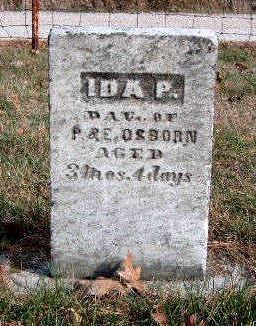 OSBORN, IDA P. - Madison County, Iowa | IDA P. OSBORN