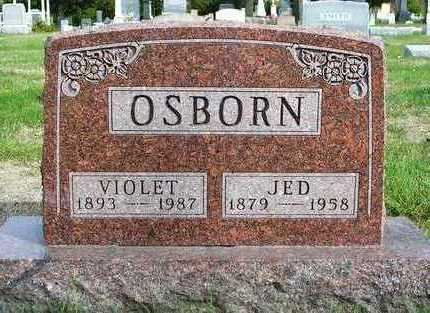 OSBORN, VIOLET - Madison County, Iowa | VIOLET OSBORN