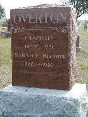 OVERTON, FRANKLIN (FRANK) - Madison County, Iowa | FRANKLIN (FRANK) OVERTON