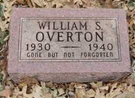 OVERTON, WILLIAM STANLEY - Madison County, Iowa | WILLIAM STANLEY OVERTON