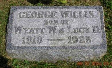 PACE, GEORGE WILLIS - Madison County, Iowa | GEORGE WILLIS PACE
