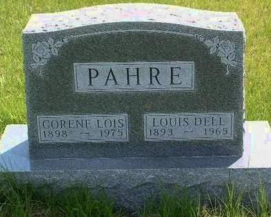 PAHRE, LOUIS DELL - Madison County, Iowa | LOUIS DELL PAHRE