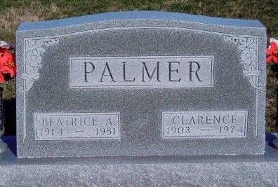PALMER, BEATRICE ALBERTA - Madison County, Iowa | BEATRICE ALBERTA PALMER
