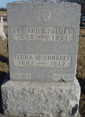 BURGESS PALMER, FLORA MAY - Madison County, Iowa | FLORA MAY BURGESS PALMER