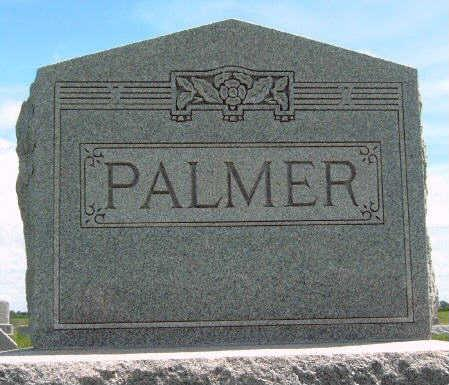 PALMER, FAMILY STONE - Madison County, Iowa | FAMILY STONE PALMER