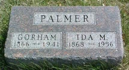 PALMER, IDA M. - Madison County, Iowa | IDA M. PALMER