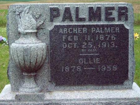 PALMER, ARCHER R. - Madison County, Iowa | ARCHER R. PALMER