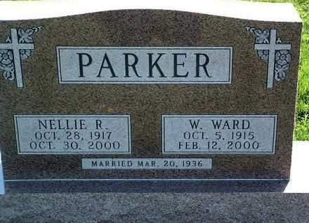 PARKER, NELLIE RUTH - Madison County, Iowa | NELLIE RUTH PARKER