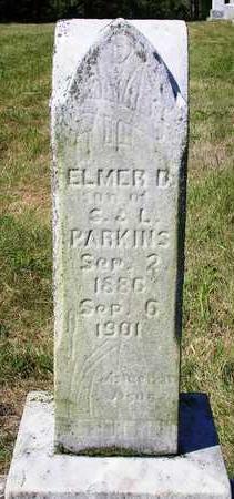 PARKINS, ELMER D. - Madison County, Iowa   ELMER D. PARKINS