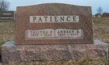 PATIENCE, TALITHA PRUDENCE - Madison County, Iowa | TALITHA PRUDENCE PATIENCE