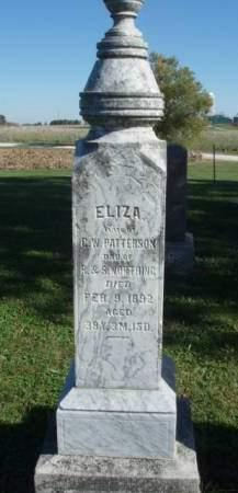 WORTHING PATTERSON, ELIZA - Madison County, Iowa | ELIZA WORTHING PATTERSON