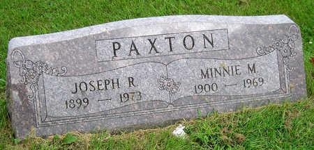PAXTON, MINNIE MARY - Madison County, Iowa | MINNIE MARY PAXTON