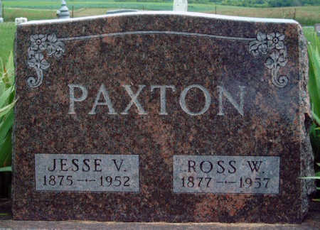 PAXTON, ROSSWELL W. (ROSS) - Madison County, Iowa | ROSSWELL W. (ROSS) PAXTON