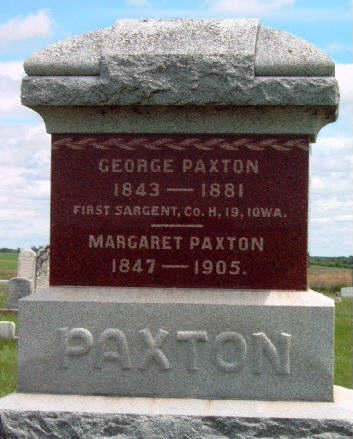 PAXTON, MARGARET - Madison County, Iowa | MARGARET PAXTON
