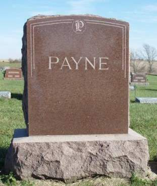 PAYNE, FAMILY STONE - Madison County, Iowa | FAMILY STONE PAYNE