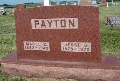 DRURY PAYTON, MABEL C. - Madison County, Iowa | MABEL C. DRURY PAYTON