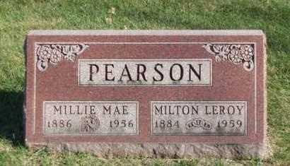 PEARSON, MILLIE MAE - Madison County, Iowa | MILLIE MAE PEARSON