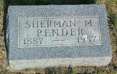 PENDER, SHERMAN M. - Madison County, Iowa   SHERMAN M. PENDER