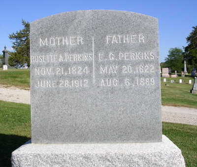 PERKINS, ERASTUS GIDDEN - Madison County, Iowa | ERASTUS GIDDEN PERKINS