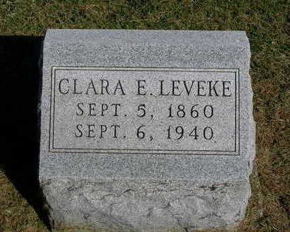 PERKINS LEVEKE, CLARA E. - Madison County, Iowa | CLARA E. PERKINS LEVEKE