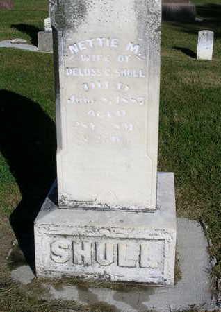 PERKINS SHULL, JEANETTA MERRILL (NETTIE) - Madison County, Iowa | JEANETTA MERRILL (NETTIE) PERKINS SHULL