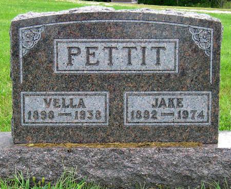 PETTIT, ARVELLA FERN (VELLA)  - Madison County, Iowa | ARVELLA FERN (VELLA)  PETTIT