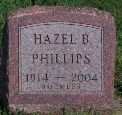 PHILLIPS PHILLIPS, HAZEL BEATRICE - Madison County, Iowa | HAZEL BEATRICE PHILLIPS PHILLIPS