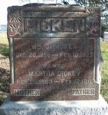 DICKEY PICKEN, MARTHA - Madison County, Iowa | MARTHA DICKEY PICKEN