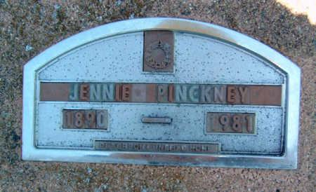 PINCKNEY, JENNIE - Madison County, Iowa | JENNIE PINCKNEY