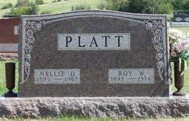 PLATT, NELLIE DAISY - Madison County, Iowa | NELLIE DAISY PLATT