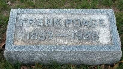POAGE, FRANK - Madison County, Iowa | FRANK POAGE
