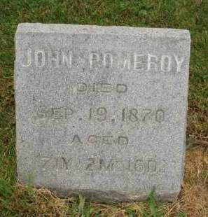 POMEROY, JOHN - Madison County, Iowa | JOHN POMEROY