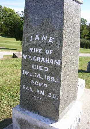 POPHAM GRAHAM, JANE - Madison County, Iowa | JANE POPHAM GRAHAM