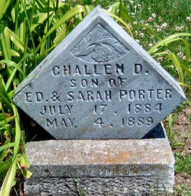 PORTER, CHALLEN D. - Madison County, Iowa | CHALLEN D. PORTER